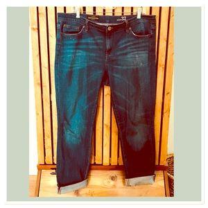 J.Crew broken in boyfriend jeans